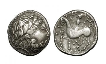 Celts in Eastern Europe, ca. 3rd century BC, Tetradrachm