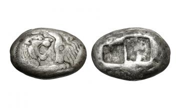 Kings of Lydia, Sardes, Croesus c. 564/53-550/39 BC, Stater