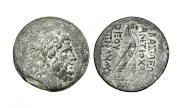 Seleucid Kingdom, Antiochus IV, 175-164 BC, Antioch on the Orontes, c. autumn 169-summer/autumn 168 BC, AE 35