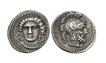 Cilicia, Tarsos, Datames, Satrap of Cilicia & Cappadocia, 384-361/0 BC, Stater c. 380 BC