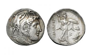 Egypt, Ptolemy I Soter. As satrap, 325-305 BC, Tetradrachm , Cyprus