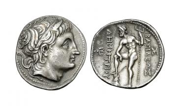 Macedon, Demetrios Poliorketes 306-283 BC, Tetradrachm