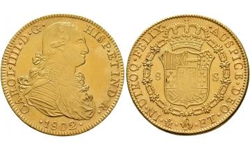 Mexico, Carlos IV, 1788-1808, 8 Escudos 1802 FT, Mexico