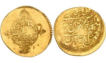 Iran, Zand Dynasty, Karîm Khân, 1166-1193 AH (1753-1779 AD), 1/4 Mohur 1192 AH