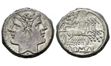 Roman Republic, Quadrigatus ca. 225-212