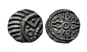 England, Anglo-Saxon, Sceatt ca. 720-740, continental sceattas
