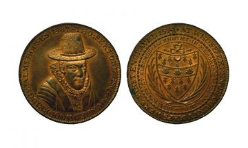 Great Britain, British Token, Suffolk 15, Æ Penny 1796, Woodbridge