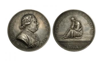 Great Britain, George III, 1760-1820, AR Medal ca. 1774