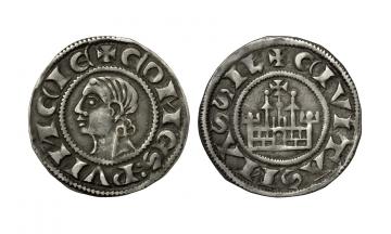 France. Provincial, Provence (comté), Bérenger V – Charles I d'Anjou, 1209-1266, 6 Coronats struck after 1218, Marseille