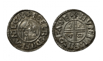 Great Britain/Ireland, Aethelred II, 978-1016, Penny ca. 991-997, Exeter
