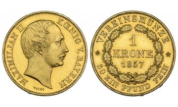 Bavaria, Maximilian II. (1848-1864), Vereinskrone, 1857