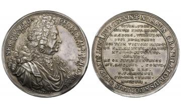 Germany, Braunschweig und Lüneburg, Georg Wilhelm (1665-1705), Silvermedal 1703