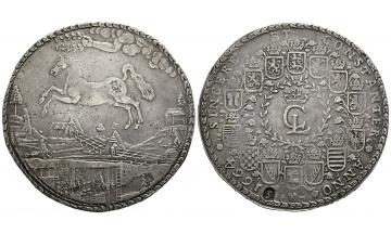 Germany, Braunschweig und Lüneburg, Christian Ludwig I. (1648-1665), Löser zu 5 Reichstalern 1664, Clausthal
