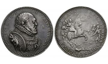 Germany, Bavaria, Albert V. der Gross. (1550-1579), Schautaler 1576, very rare