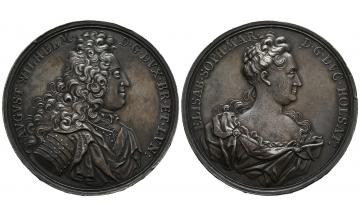 Germany, Braunschweig und Lüneburg, August Wilhelm (1714-1731), Silvermedal 1710