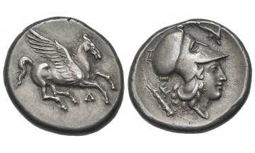 Illyria, Dyrrachium, Stater circa 350