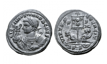 Licinius II, son of Licinius I, as Caesar, BI Nummus ca. 320, Siscia