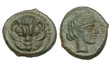Bruttium, Rhegium, Bronze ca. 420-387 BC, Rhegium