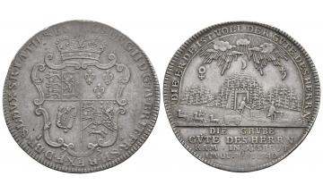 Braunschweig-Calenberg-Hannover, Georg II. 1727-1760, Reichstaler 1756, Zellerfeld