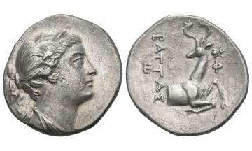 Ionia, Ephesus, Drachm ca. 258-202 BC