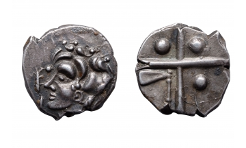 Gaul, Cadurci tribe of South Western France, Drachm ca. 200-118 BC