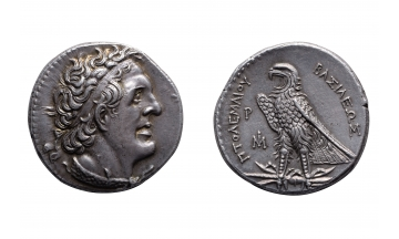 Egypt, Ptolemy I Soter (Saviour), Tetradrachm 294-282 BC