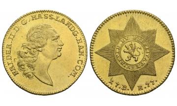 Germany, Hessen, Friedrich II. (1760-1785), 2 Friedrichs d'or (10 Taler) 1777, Kassel