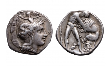 Lucania, Heraclea, Silver Stater ca. 390-340 BC