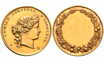 France, Issoudun, Val de Loire, Third Republic, 1870-1940, Gold Medal