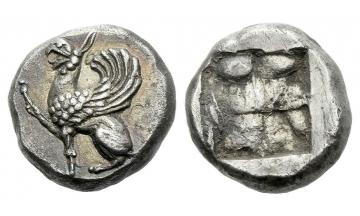 Thrace, Abdera, Hemidrachm ca. 520 BC, Abdera