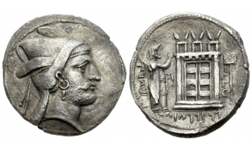 Persis, Kings of Persis, Bagadat, Tetradrachm early-mid III century BC