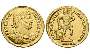 Roman Empire, Julian II augustus, 360–363, Solidus 361-363, Antiochia