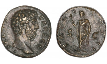 Roman Empire, Aelius, 136-138, As, Rome, rare