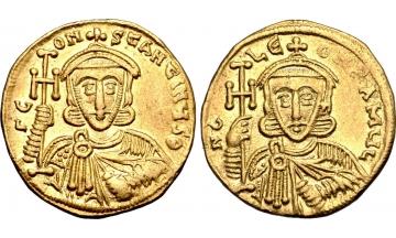 Byzantine Empire, Constantine V Copronymus, 741-775, Solidus, Constantinople, rare