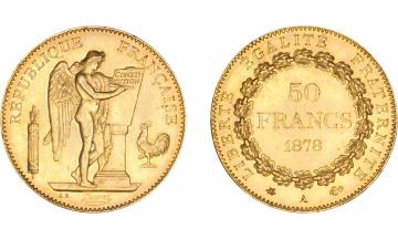 France, 50 Francs 1878, Paris
