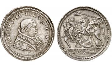 Italy, Vatican, Julius II, 1503-1516, Silver Medal