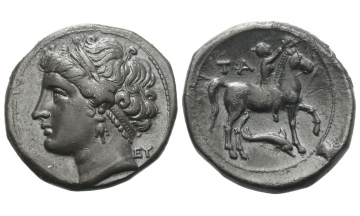 Calabria, Tarentum, Nomos ca. 281-228 BC