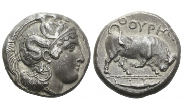 Lucania, Thurium, Dinomos ca. 410-400 BC