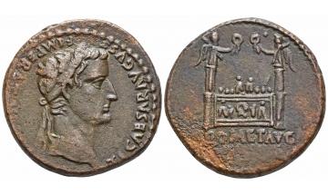 Roman Empire, Augustus, 27 BC-14 AD, As 10-7 BC, Lugdunum