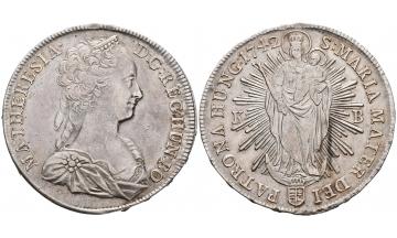 Holy Roman Empire, Maria Theresia, 1740-1780, Thaler 1742 KB