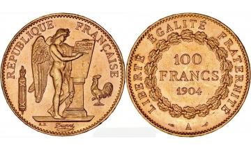 France, 100 Francs 1904, Paris