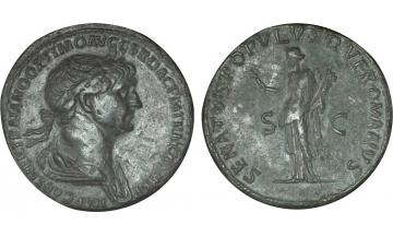 Roman Empire, Trajan, 98-117, Sestertius