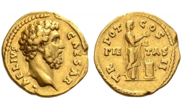 Roman Empire, Aelius Caesar, 136-138, Aureus, very rare