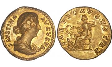Roman Empire, Faustina Junior, 161-175, Aureus