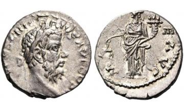 Roman Empire, Pescennius Niger, 193-194, Denarius