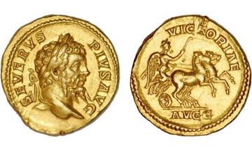 Roman Empire, Septimius Severus, 193-211, Aureus