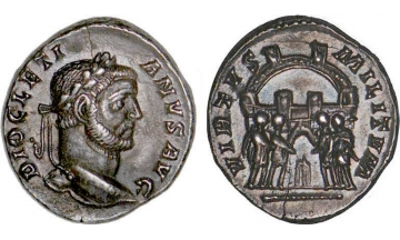 Roman Empire, Diocletian, 284-305, Argenteus