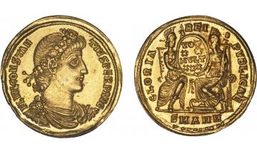 Roman Empire, Constantius II, 337-361, Solidus, Antioche