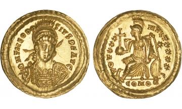 Roman Empire, Theodosius II, 402-450, Solidus