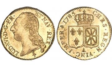 France Kingdom, Louis XVI, 1774-1792/93, Louis d'or 1785, Paris